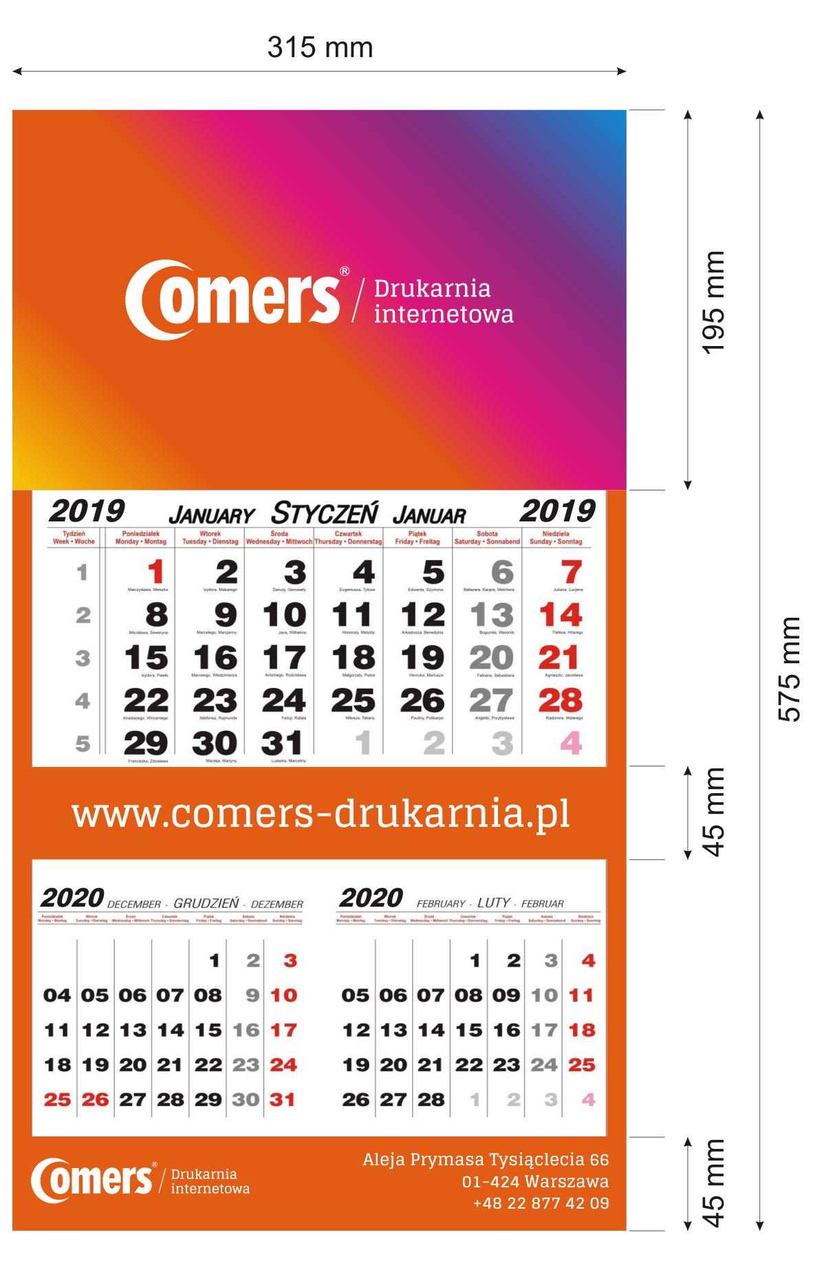 makieta -kalendarza-dwudzielnego